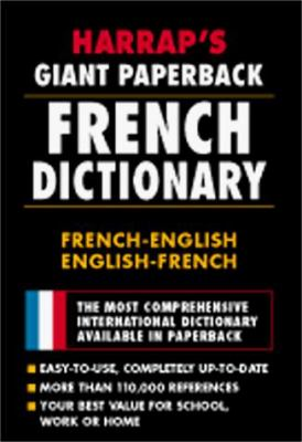 Harrap Giant Paperback French Dictionary