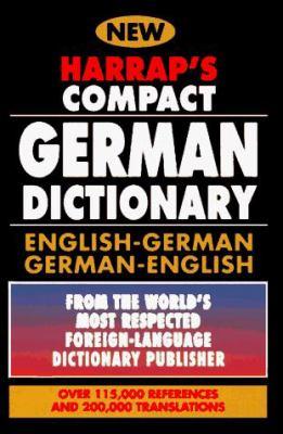 Harrap's Compact German Dictionary: English/German, German/English