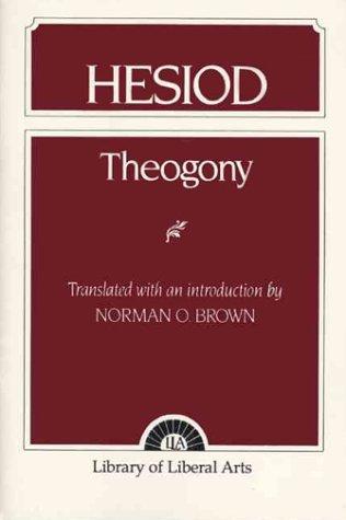 Hesiod: Theogony 9780023153105