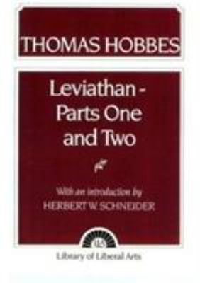 Hobbes: Leviathan 1 and 2