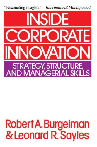 Inside Corporate Innovation: Strategy, Structure, and Managerial Skills