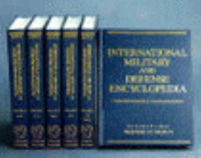 International Military and Defense Encyclopedia 1 6v Set 9780028810119