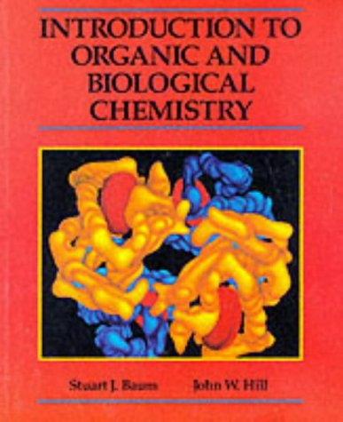 Introduction to Organic & Biological Chemistry