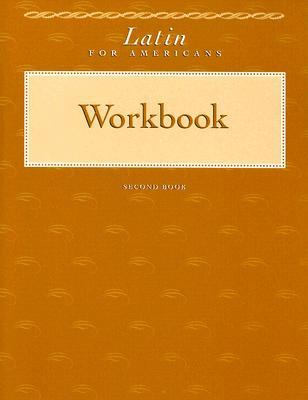 Latin for Americans Second Book Workbook
