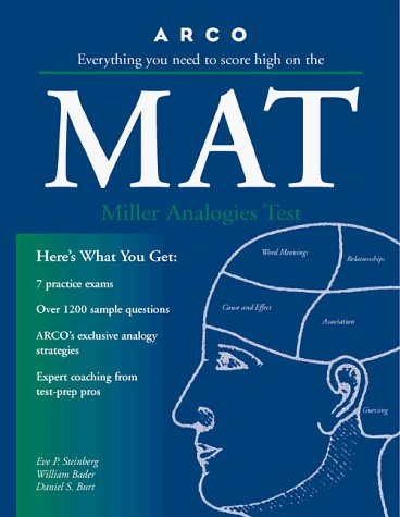 MAT: Miller Analogies Test 9780028622033