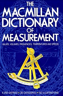 MacMillan Dictionary of Measurement 9780025257504