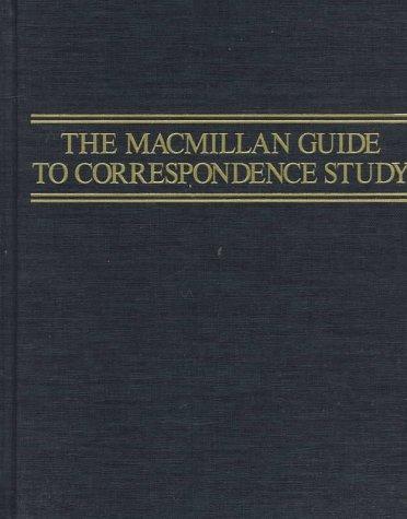 MacMillan Guide to Correspondence Study