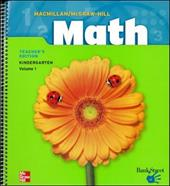 MacMillan/McGraw-Hill Math, Grade K, Pupil Edition (Consumable)