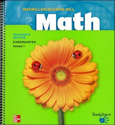 MacMillan/McGraw-Hill Math, Grade K, Pupil Edition (Consumable)