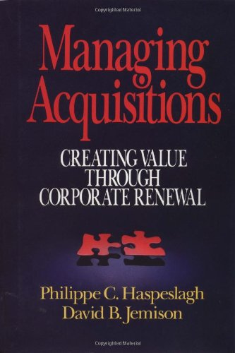 Managing Aquisitions