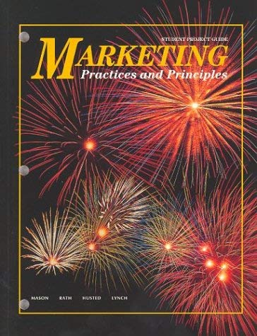 Marketing Student Project Guide: Practices and Principles