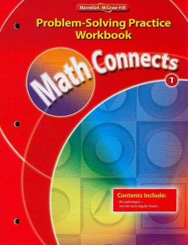 Math Connects: Problem-Solving Practice Workbook, Grade 1