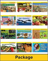 Math Connects, Kindergarten, Real-World Problem Solving Readers Package (on Level)