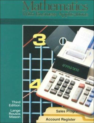 Mathematics with Business Applications 9780028001241