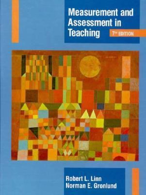 Measurement & Assessment in Teaching 9780023482618