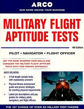 Military Flight Aptitude Tests, 4/E 9780028635446