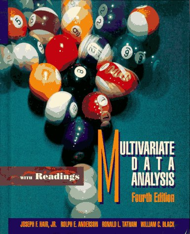 Multivariate Data Analysis with Readings 9780023490200