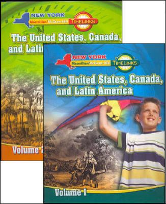 NY, Timelinks, Grade 5, Complete Student Edition Set (Volumes 1 and 2)