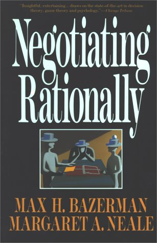 Negotiating Rationally 9780029019863