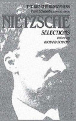 Nietzsche: The Great Philosophers