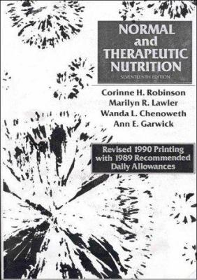 Normal and Therapeutic Nutrition, Revised 9780024026057