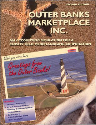 Outer Banks Marketplace Inc.: An Accounting Simulation for a Closely Held Merchandising Corporation