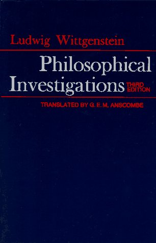 Philosophical Investigations 9780024288103