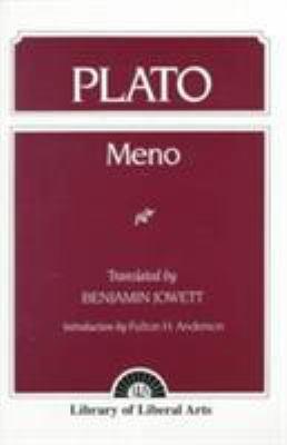 Plato: Meno 9780023607707