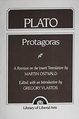 Plato: Protagoras 9780023610905