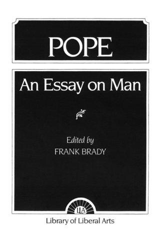 Pope: An Essay on Man
