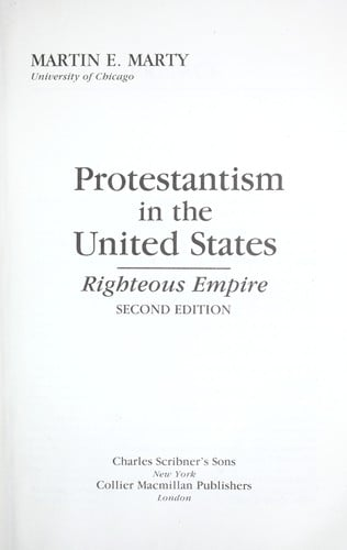 Protestantism in the United States