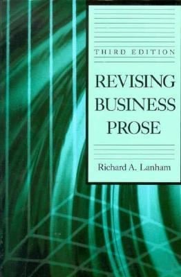 Revising Business Prose