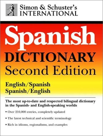 Simon & Schuster's International Dictionary: English/Spanish, Spanish/English 9780028620138