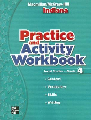 Social Studies: Grade 4, Indiana Pracitce and Activity Workbook