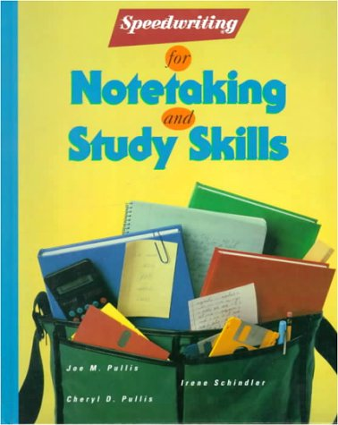 Speedwriting for Notetaking and Study Skills