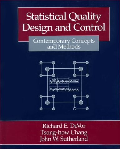 Statistical Quality Design and Control