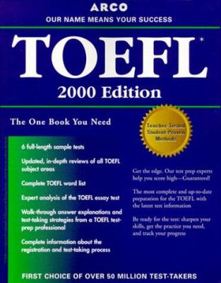 TOEFL: Everything You Need to Score High on the TOEFL