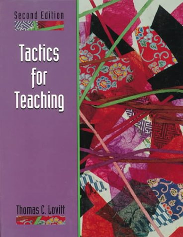 Tactics for Teaching