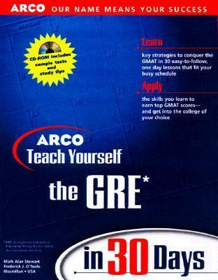 Teach Yourself the GRE in 30 Days [With *]