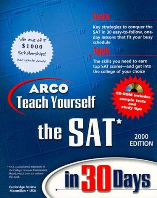 Teach Yourself to the SAT in 30 Days [With *]