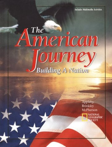 The American Journey: Building a Nation, Student Edition