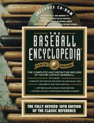 The Baseball Encyclopedia: The Complete and Defenitive Record of Major...-, with CD-ROM 9780028614359