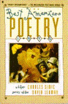 The Best American Poetry 1992