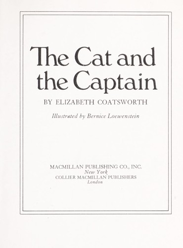 The Cat and the Captain,