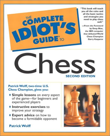 The Complete Idiot's Guide to Chess 9780028641829