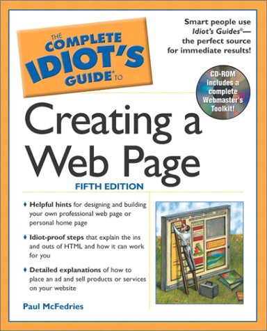 The Complete Idiot's Guide to Creating a Web Page, 5e: 4