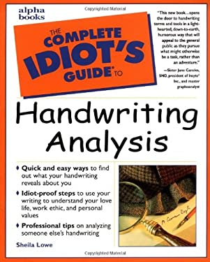 The Complete Idiot's Guide to Handwriting Analysis 9780028632025
