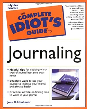 The Complete Idiot's Guide to Journaling 9780028639802
