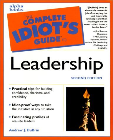 The Complete Idiot's Guide to Leadership 9780028639543
