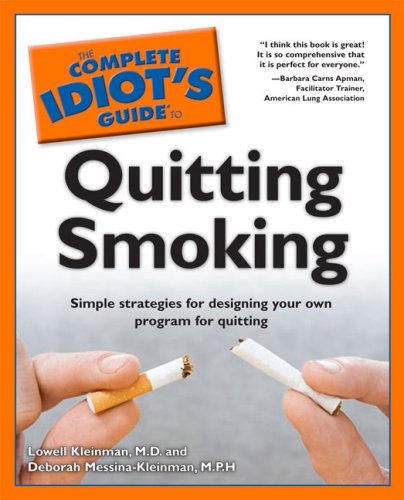 The Complete Idiot's Guide to Quitting Smoking 9780028639154